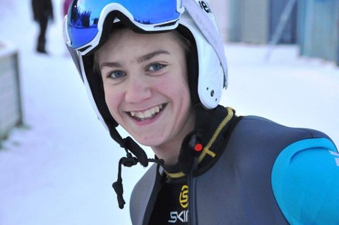 DOBBELT: Benjamin Østvold fra Raufoss.