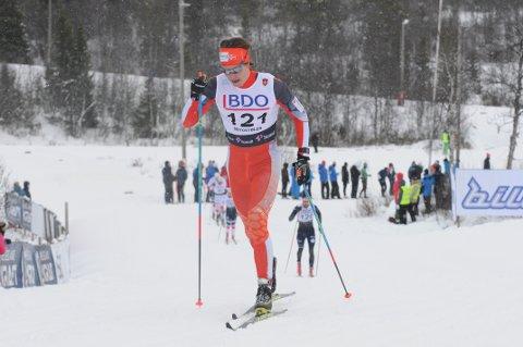 Sterkt løp av Vetle Thyli i Sveits.