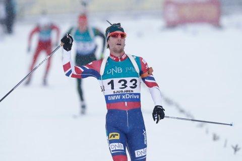 Erlend Øvereng Bjøntegaard ble beste norske på Sjusjøen. Foto: Berit Roald / NTB scanpix