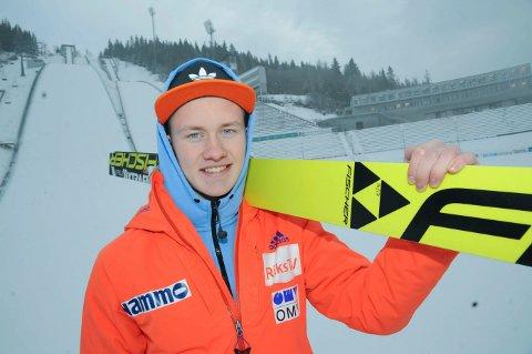 Thomas Aasen Markeng er av Aftenposten kåret til landets største hopptalent.