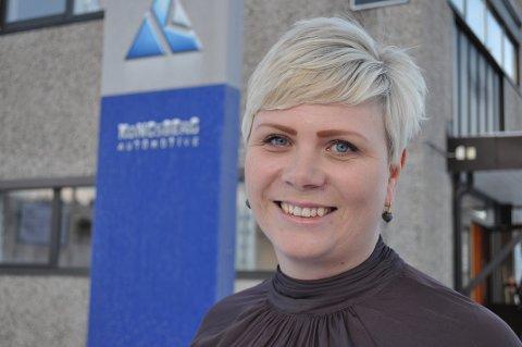 FRA IKEA-LAND Linda Nyquist-Evenrud kommer opprinnelig fra Ælmhult i Småland, der Ikea startet sitt aller første varehus. Hun er  toppsjef i Kongsberg Automotive, Raufoss Couplings.