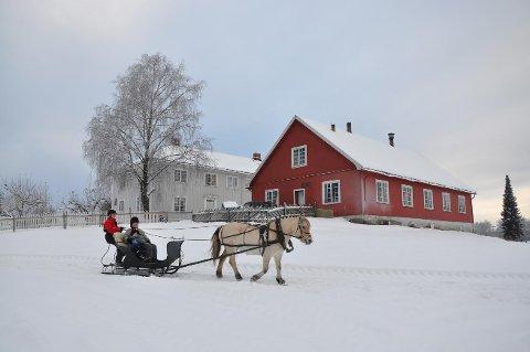 Kanefart er blant tilbudene under Jul på Valle førstkommende lørdag.