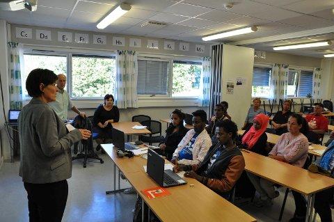Omkring 60 voksne beboere i Søndre Land statlige mottak mottar norsk- og samfunnsfagundervisning ved Sølve AS. - Nedleggelsen av mottaket blir som å miste en skoleklasse, sier daglig leder Rita Sandnes.