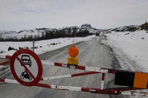 Valdresflya ble vinterstengt torsdag kveld. Foto: Ingvar Skattebu