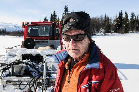 Knut Aassveen kan by på skiløyper rundt Beitostølen fra onsdag midt på dagen. Arkivbilde