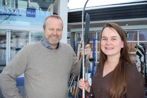 TOSPANN: Ivar Odnes og Marit Strand kan bli våre to nye stortingsrepresentanter. (Arkivbilde)