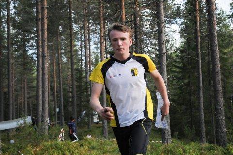 KM-KLAR: Simen Ballangrud fra Raufoss løper KM i orientering i helga. Arkivbilde