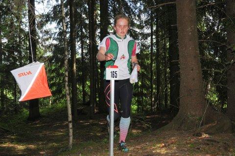 TO GULL: Ingeborg Rognstad vant KM-gull både på sprinten og mellomdistansen. Foto: Tommy Gullord