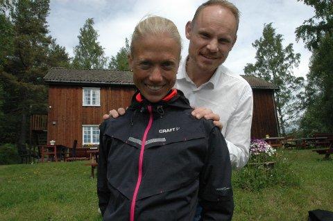 BYRÅ: Maratonkvinnen Marthe Katrine Myhre fra Hunndalen skal i likhet med medeier Pål Tømmerhoel fra Kapp bygge opp Gjøvik-avdelingen til Mediamenn AS.