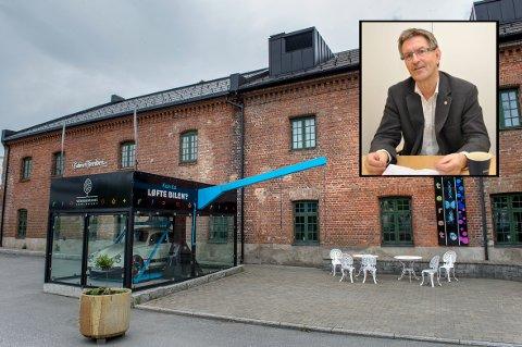 – MÅ JOBBE KNALLHARDT: Styreleder Sverre Narvesen vil tilstrebe en tett dialog med skolene når et helt nytt team skal forme det pedagogiske tilbudet ved Vitensenteret Innlandet.