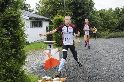 Tre pallplasser: Kristine Kravdal løp inn til to andreplasser og en tredjeplass under O-festivalen.  Arkivfoto