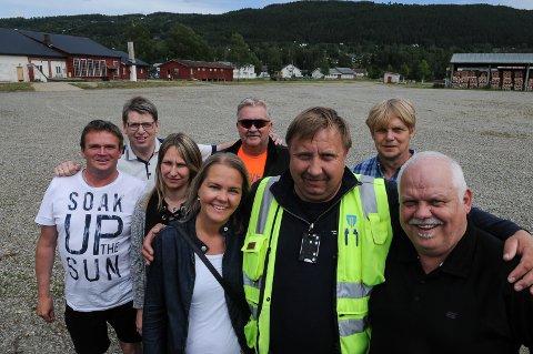 Gira: Kjell Rønningen og kompani planlegger for at det kommer 15.000 publikummere når VG-lista besøker Dokka.