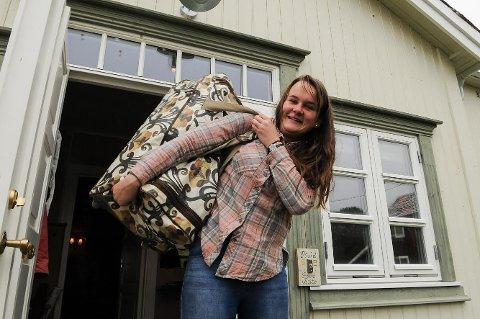 Bagen er pakket og Marit Knutsdatter Strand forbereder seg på et liv som fulltidspolitiker.