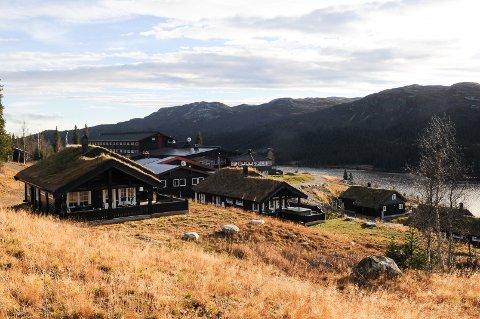 Synnfjell-planen åpner for en omfattende utbygging, blant annet her rundt Spåtind Sport Hotell. Foto: Ingvar Skattebu