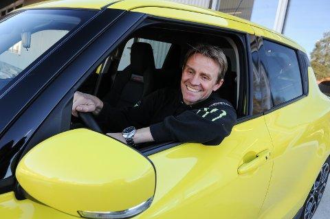 TIL VI LIGGER DER: Bjørn Olav Jøranlis Swift Sport skal følge ham hele livet, slik andre biler han eier også gjør.