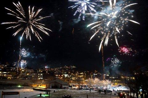 NYTT ÅR: Snart er det klart for et nytt år, og det skal feires med brask og bram.