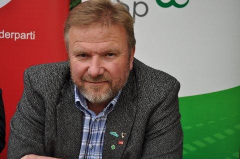 SP-LEDER: Bengt Fasteraune. ARKIVBILDE