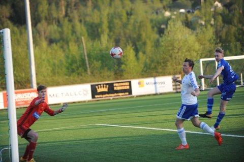 Mats Haugland scoret Redalens første mål.