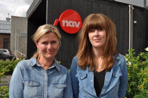 Arkivfoto: Sisssel Henriksen og Monika Bekkelund. Familiekoordinatorer Nav Gjøvik.