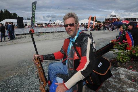 Åge Larsen storkoste seg med sin debut på LS som 68-åring.