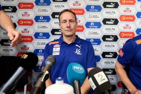 Norges Friidrettsforbund presenterte Erlend Slokvik som ny toppidrettssjef mandag formiddag på Ullevaal stadion i Oslo.