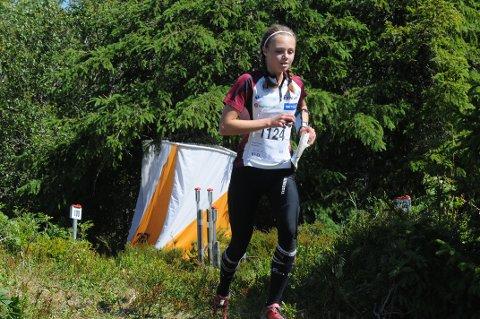 Kristine Kravdal ble nummer fem i O-festivalen i helga.