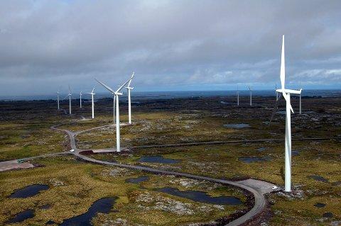 LØNNSOMT: – Utbygging på land er kommersielt lønnsom uten subsidier. Og Norge har blant Europas bestevindkraftressurser, skriver artikkelforfatterne.