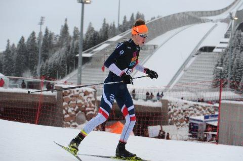 Jacob Lundby vant 16-årsklassen i onsdagens skiskytterkarusell i Karidalen.