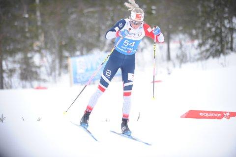 Marte Mæhlum Johansen gikk et bra renn og ble nummer til på NMs første dag.