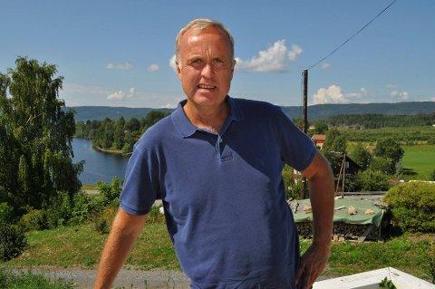 NY JOBB: Lars Erik Flatø fra Gran er ny daglig leder i Fagforbundet.