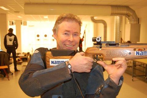 John Arild Knapp vant sesongens første innendørsstevne på Dokka.