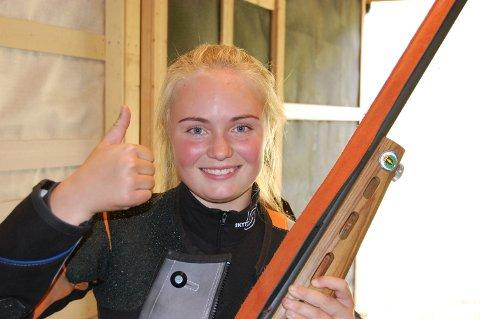 Tuva Bakke vant både på Dokka og i Etnedal