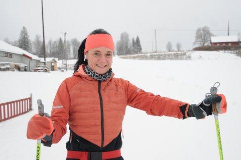 Lene Furuseth testet løypene på Vindplassen mandag. – Helt supert, forsikret skimosjonisten.
