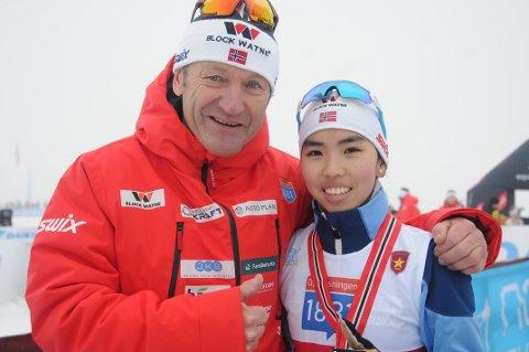 Kombinertsjef Ivar Stuan hevder Thea Minyan Bjørseth (16) fra Lensbygda er aktuell til tidenes første VM i kombinert for kvinner i Oberstdorf i 2021.