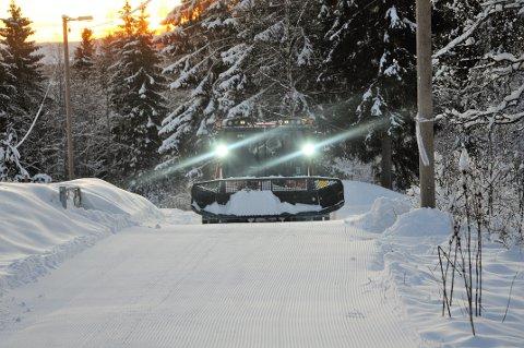 UT PÅ SKI: Det er gode skiforhold flere steder i Gjøvikregionen. (ARKIVBILDE)