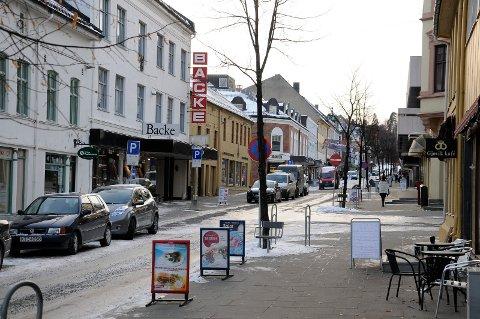 Storgata Backe Gjøvik sentrum