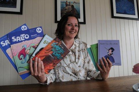 ÅRETS PRODUKSJON: Linn T. Sunne gir ut flere bøker hvert år. Nå kommer også mange av dem ut som lydbøker.