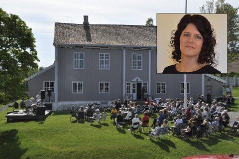 GOD STEMNING: Rannveig Theisen håper å kommer seg til Peder Balke-senteret lørdag og arrangementet Mårråstund.
