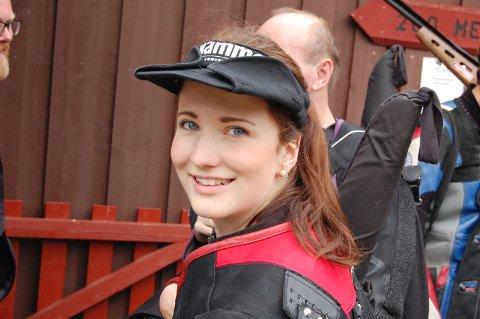 Anne Ingeborg Sogn Øiom var nær ved totalseieren under Landsdelsmesterskapet i baneskyting.