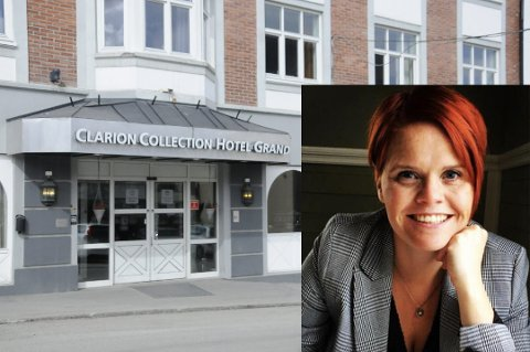 STOLT: – Jeg er ufattelig glad for og stolt av å tre inn i rollen som hotelldirektør på denne perlen av et hotell, sier Helga Marie Gisladottir som begynner i direktørjobben 1. september.