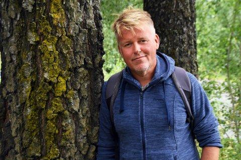 VELGER ÅPENHET: Tomas Jevne (45) fra Gjøvik er alkoholiker og har vært tørrlagt i over to år nå.