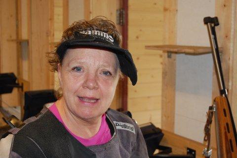 FULLT HUS: Kari Grina fra Randsfjord.