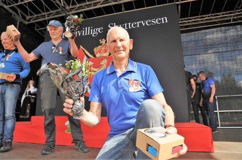 Odd Kolsrud imponerte stor i NM på Elverum.