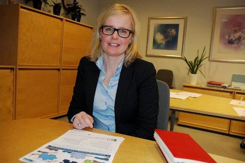 VIKARIERER I STILLINGEN: Ane Kaurstad har vikariert som assisterende divisjonsdirektør i Sykehuset Innlandet siden 1. november i fjor.