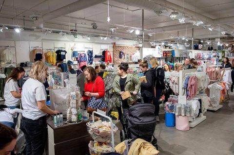 STENGT: I mars i fjor åpnet HeLium i de gamle lokalene til Engler & Cowboyer på CC. Butikken stengte 8.januar.
