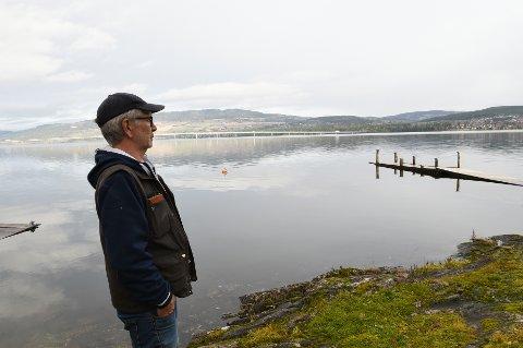 TROR LØPET ER KJØRT- Jeg tror Nye Veier har planene klare om landing på Skulhusodden, sier talsperson for hytteeiere Arnt Erling Vik.