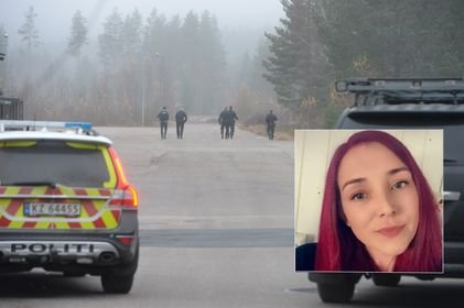 NABO: Ramona Kolsrud Christiansen ble vitne til politiaksjonen i Elverum fredag.