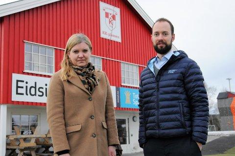Linn Thirud og Ole Bjørn Sveum har ledet gruppa som har utredet muligheten for å slå sammen idrettslagene i Kolbu. 20. februar inviterer de til infomøte på KK-plassen.