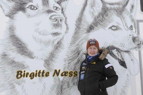 PÅ ANDREPLASS: Birgitte Næss ligger på andreplass i Femundløpet søndag kveld.