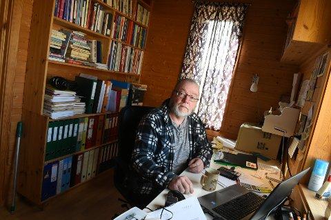 SATSER ETTERLØNNA: Tidligere varaordfører i Gjøvik Finn Olav Rolijordet starter aksjeselskap med et mål om å skape industriarbeidsplasser.